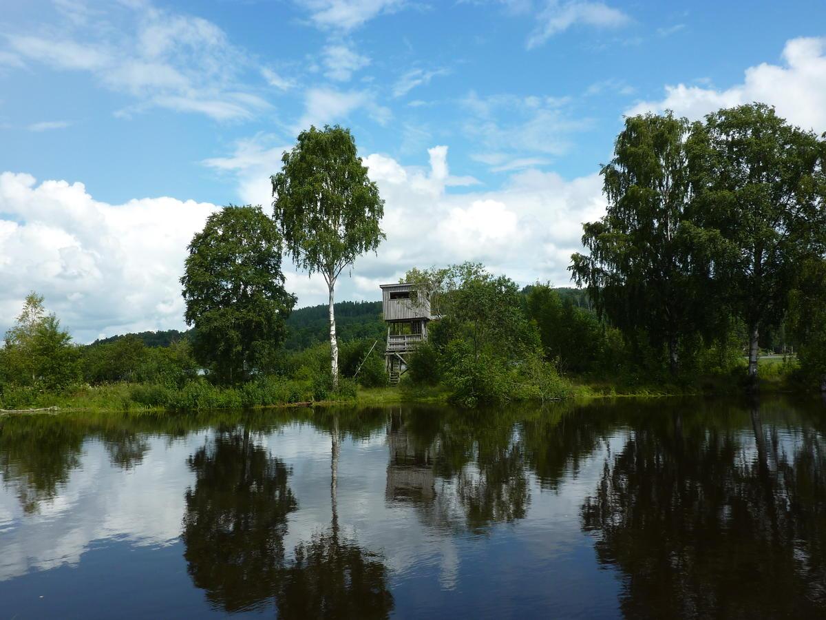 Foto av det gamle fugletårnet på Jørholmen (Foto/Photo)
