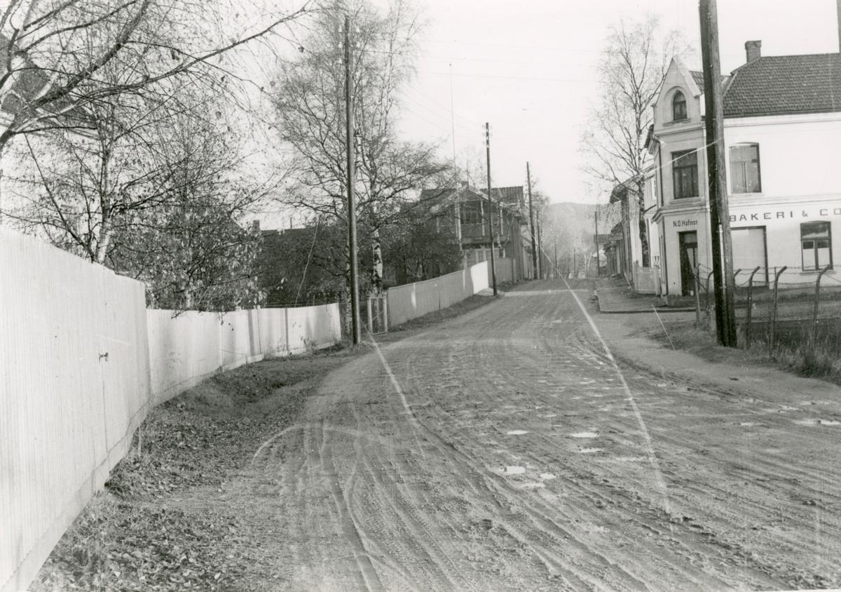 Motive from Sandsværveien, Kongsberg