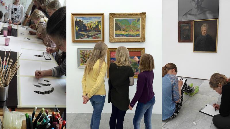 Læring om kunst og læring gjennom kunst.