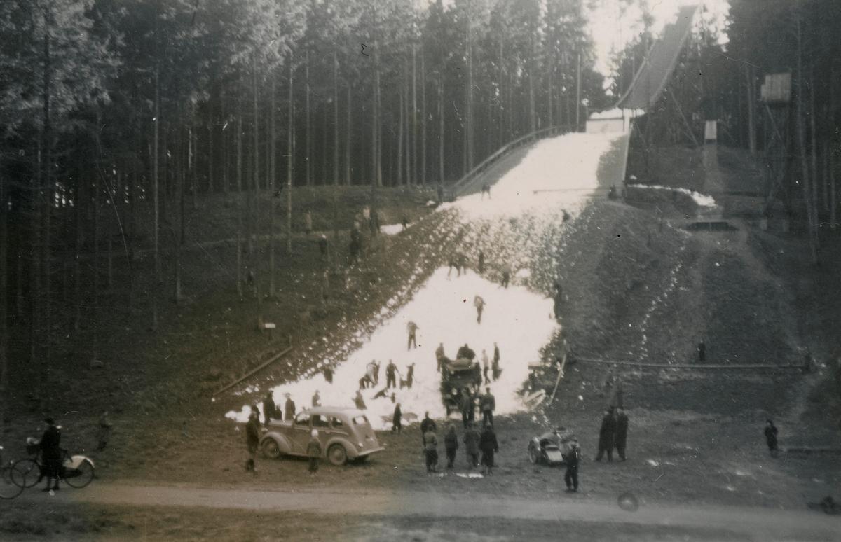 The Holte ski jump facilities outside Copenhagen