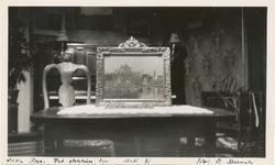 """Fotografi av oljemaleriet """"Nedre foss"""" av Edvard Munch (innr"""