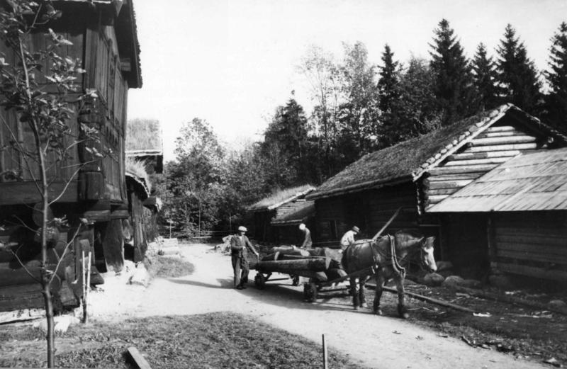 Setesdalstunet i 1942