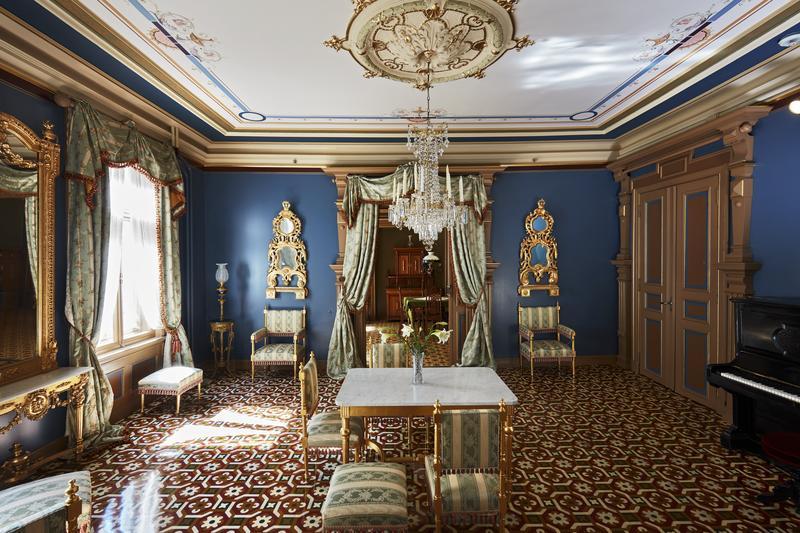 Ibsens blå salong i Arbins gate