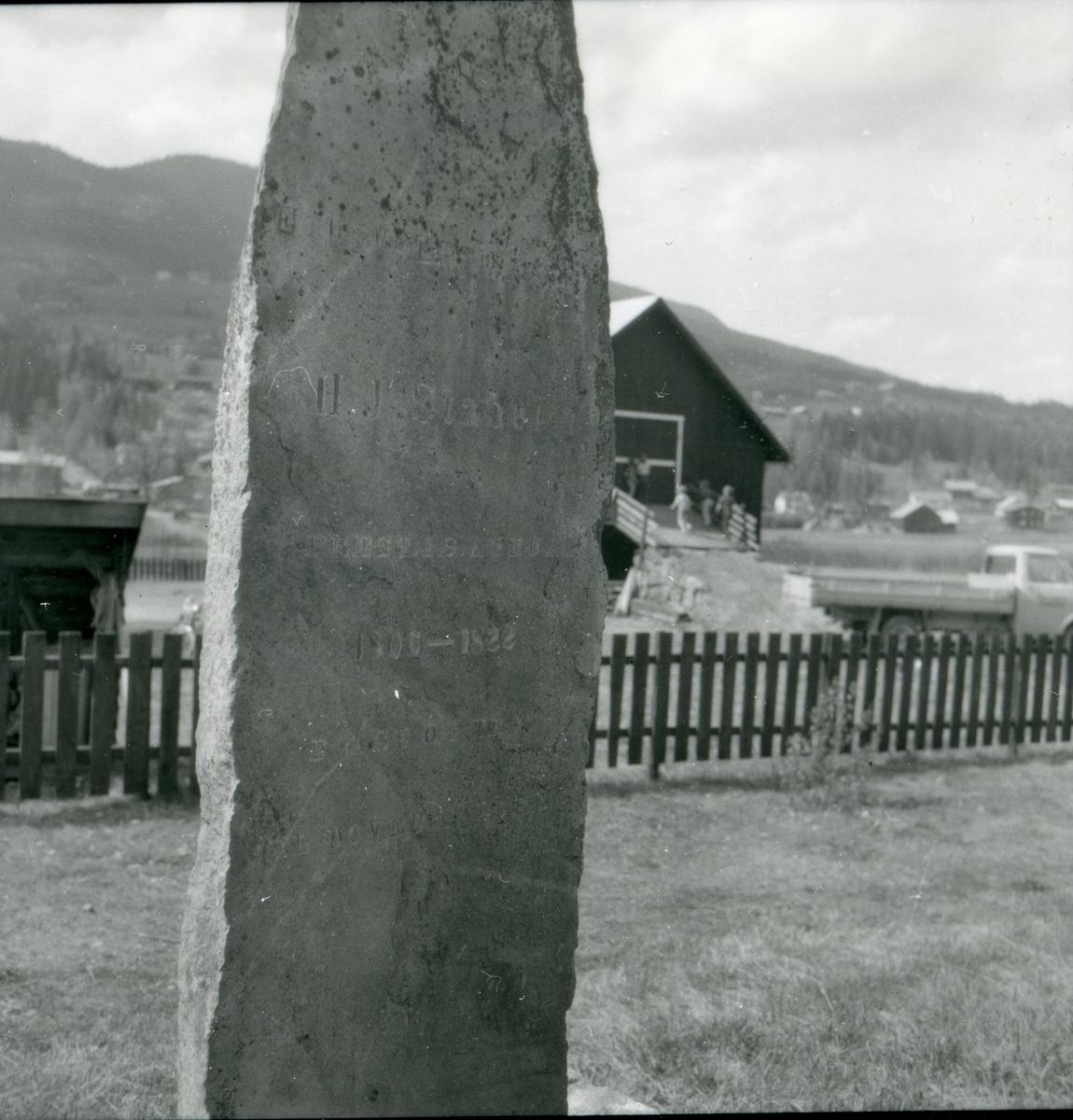 Bautasteiner på Bagnsmoen, Sør-Aurdal.