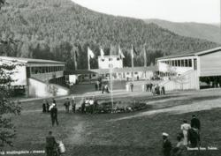 Varemessa på Vikojorde åpningen 1936.