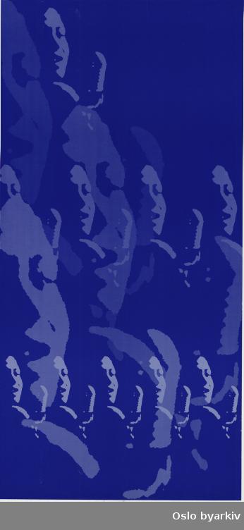 Plakat for forestillingen I can also sing the blues - bakside...Oslo byarkiv har ikke rettigheter til denne plakaten. Ved bruk/bestilling ta kontakt med Nordic Black Theatre (post@nordicblacktheatre.no)