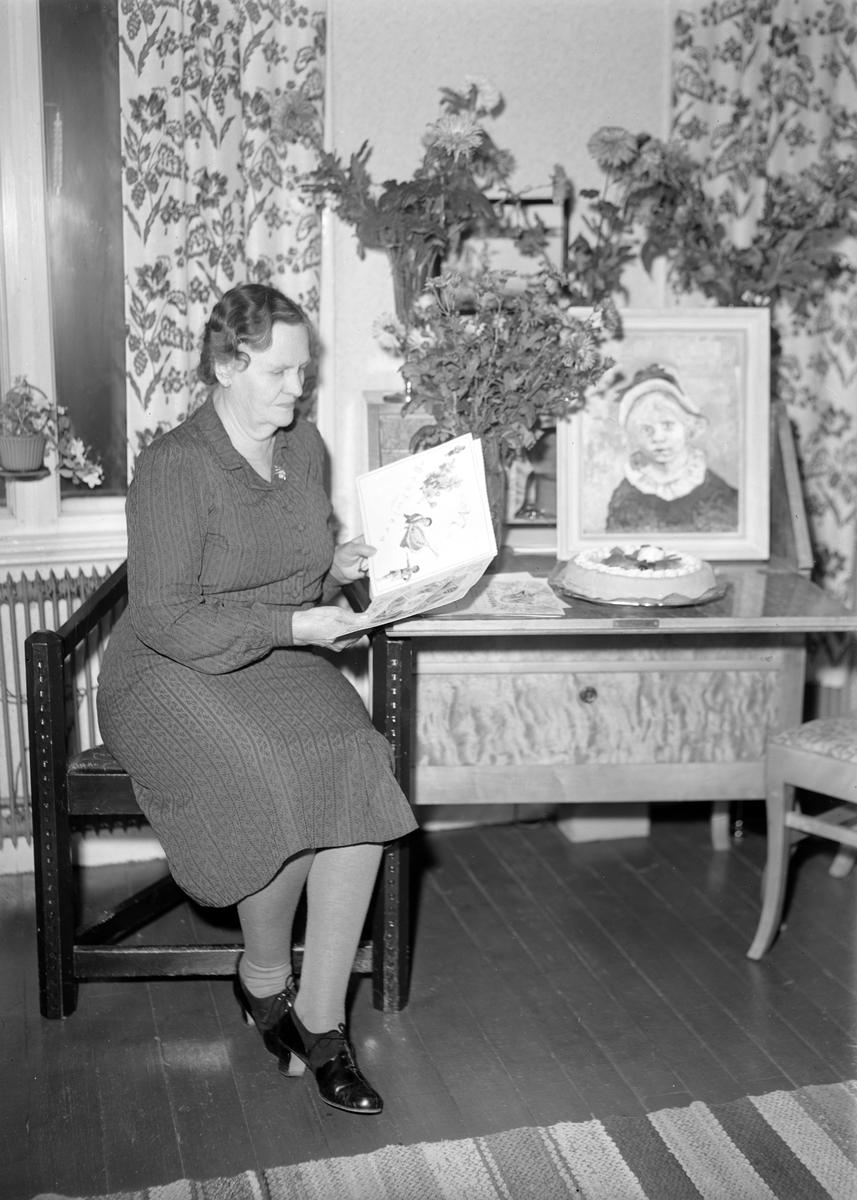 Söderberg. Foto i november 1948.