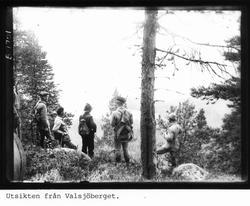 Utsikten från Valsjöberget.