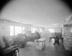 Hagen's bygg 1953. G. Hagens Trykkeri