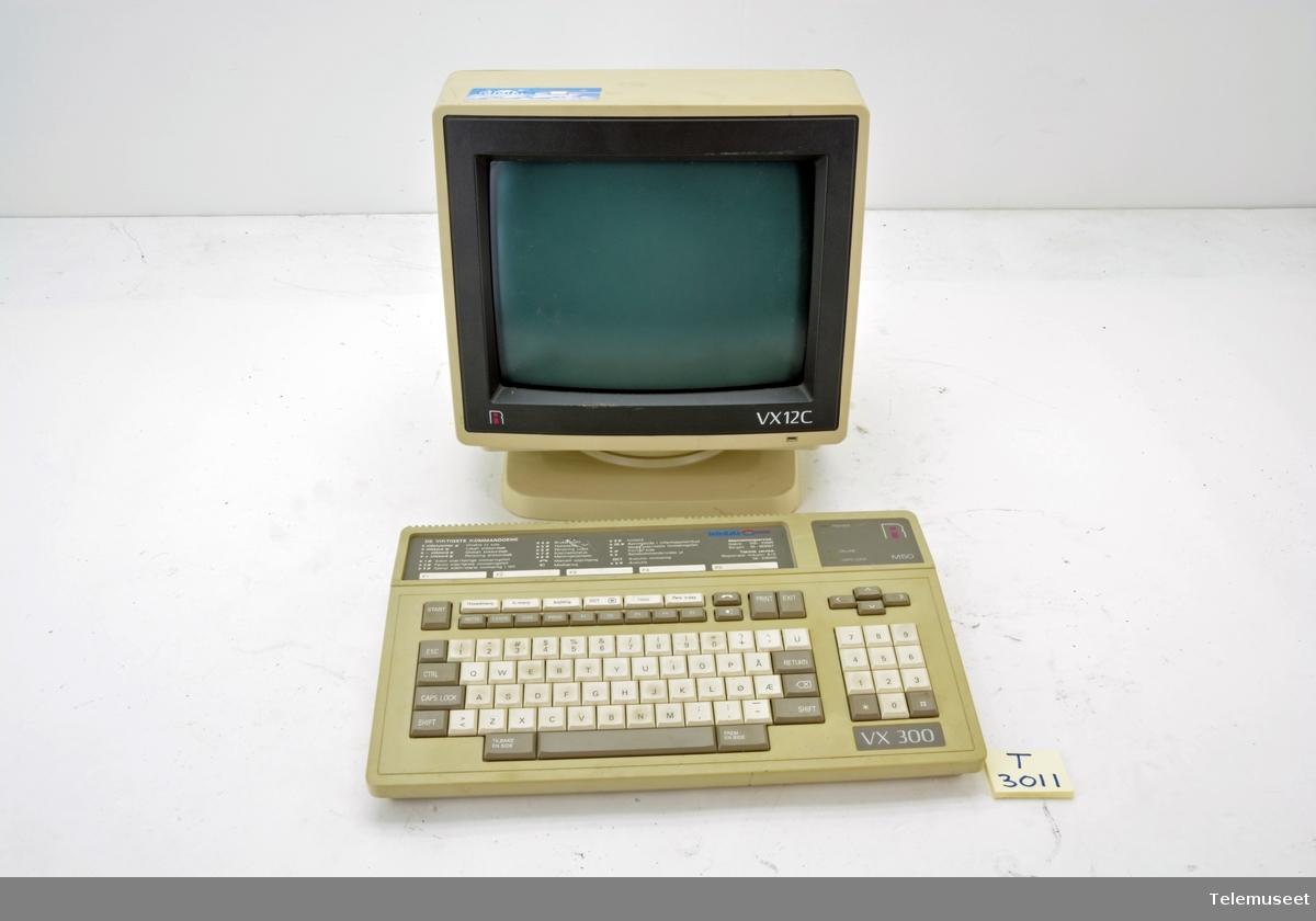 Color Display Skjerm: Vx 12c Tastatut: Vx300