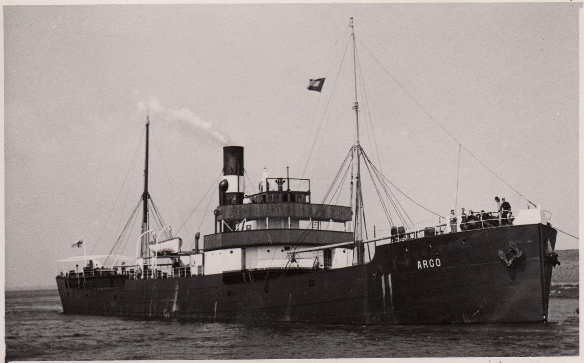 Lastfartyget ss Argo ägt av Firma Gustaf Erikson 1937 - 1942