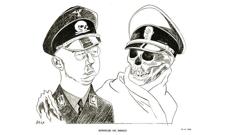 Ragvald Blix: «Himmler og døden» (mai 1945)