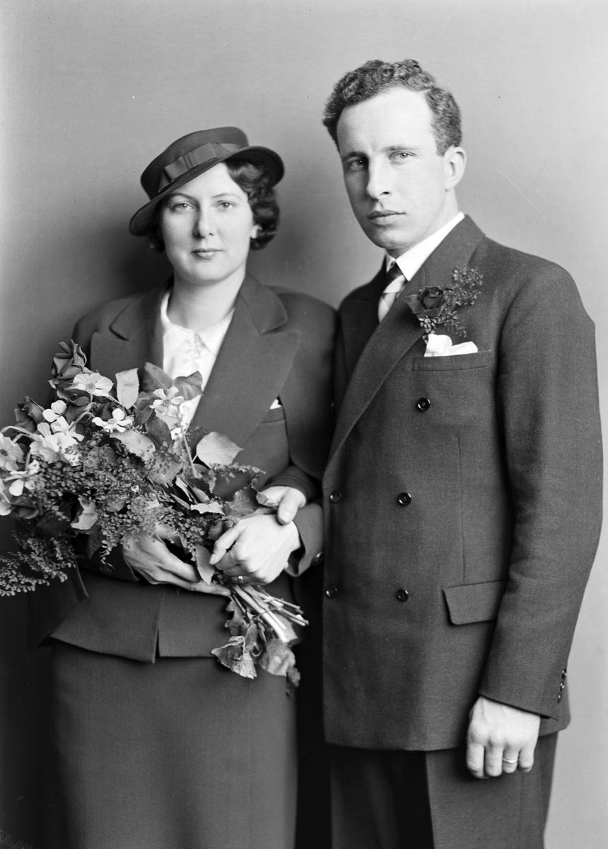 Brudpar S. E. Hasselberg.