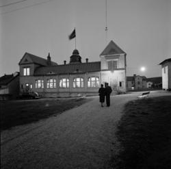 Avskedsfest i gamla Folkets hus i Skönsberg.
