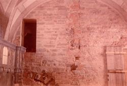 Korväggen i slottskyrkan