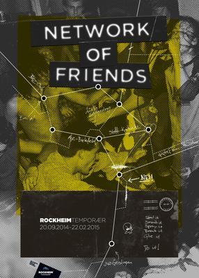 Network of Friends - utstillingsplakat