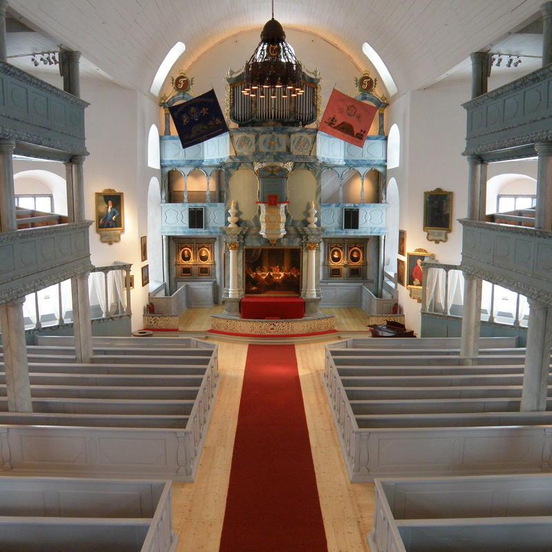 Røroskirka interiør