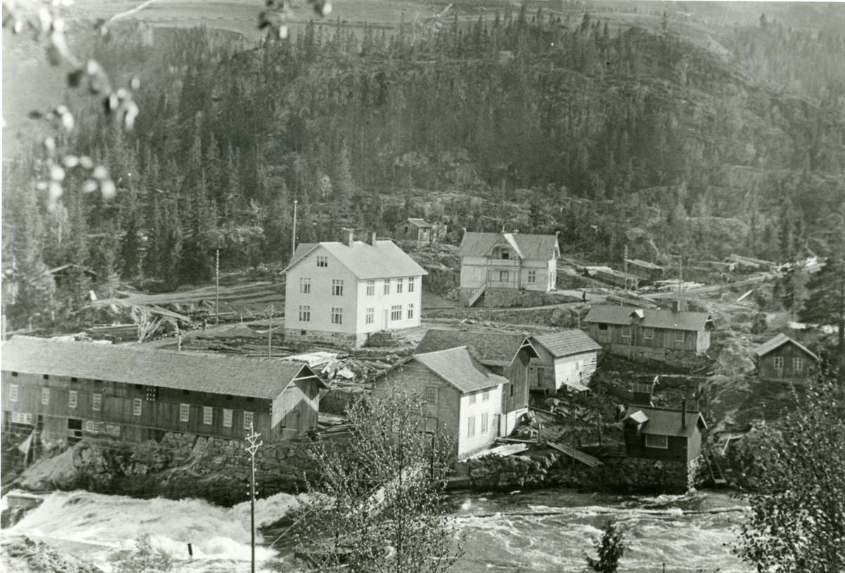 Fosheim sag og mølle i 1915