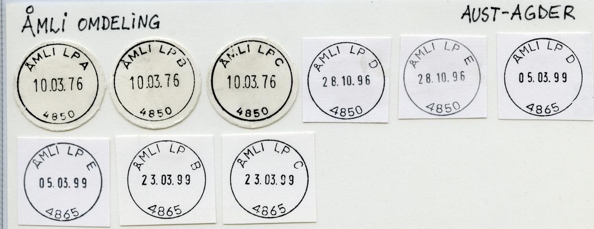 4850 Åmli (Omlid, Aamli), Arendal, Åmli, Aust-Agder