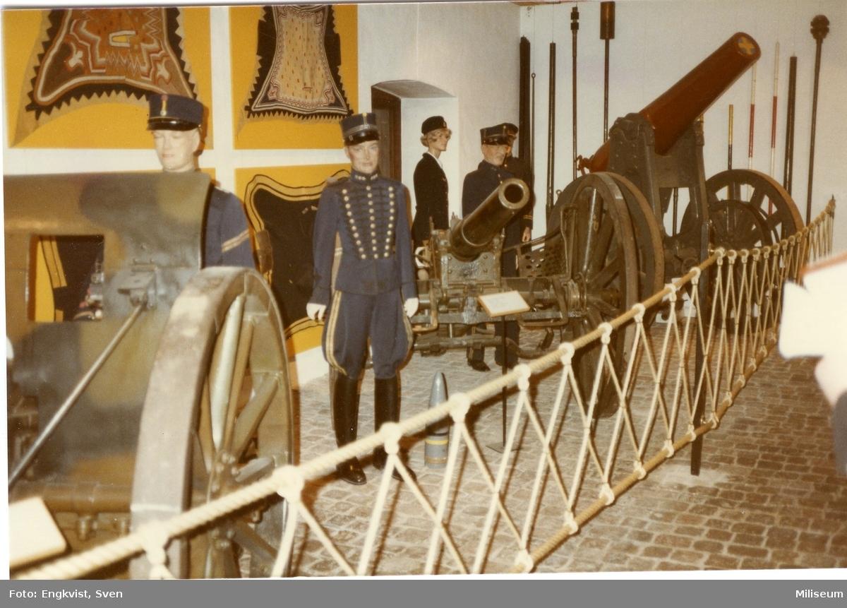 Museum, Malmö. Artilleripjäser (se notering)