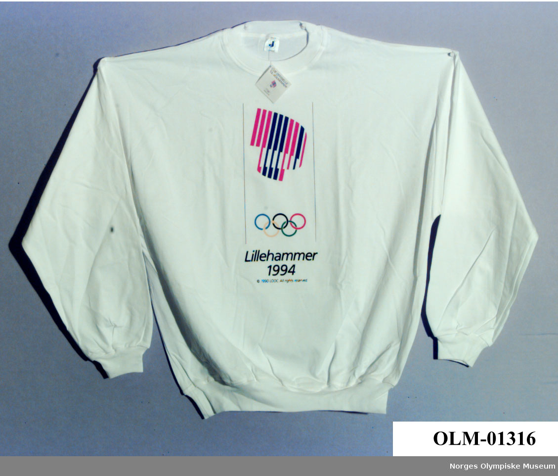 Lillehammer Norway 1994 Olympics Long Sleeve Shirt