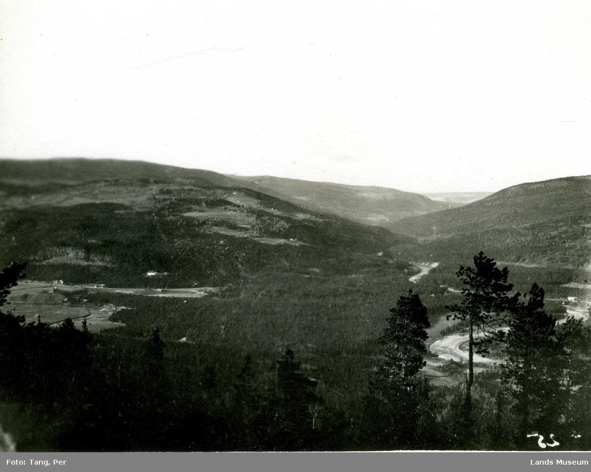 Dokka elv sett fra Skjellungskampen