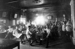 Infanterivolontärskolan Karlsborg, senare rekrytskolan för i