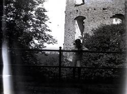 Sven vid Borgholms slott 1917.