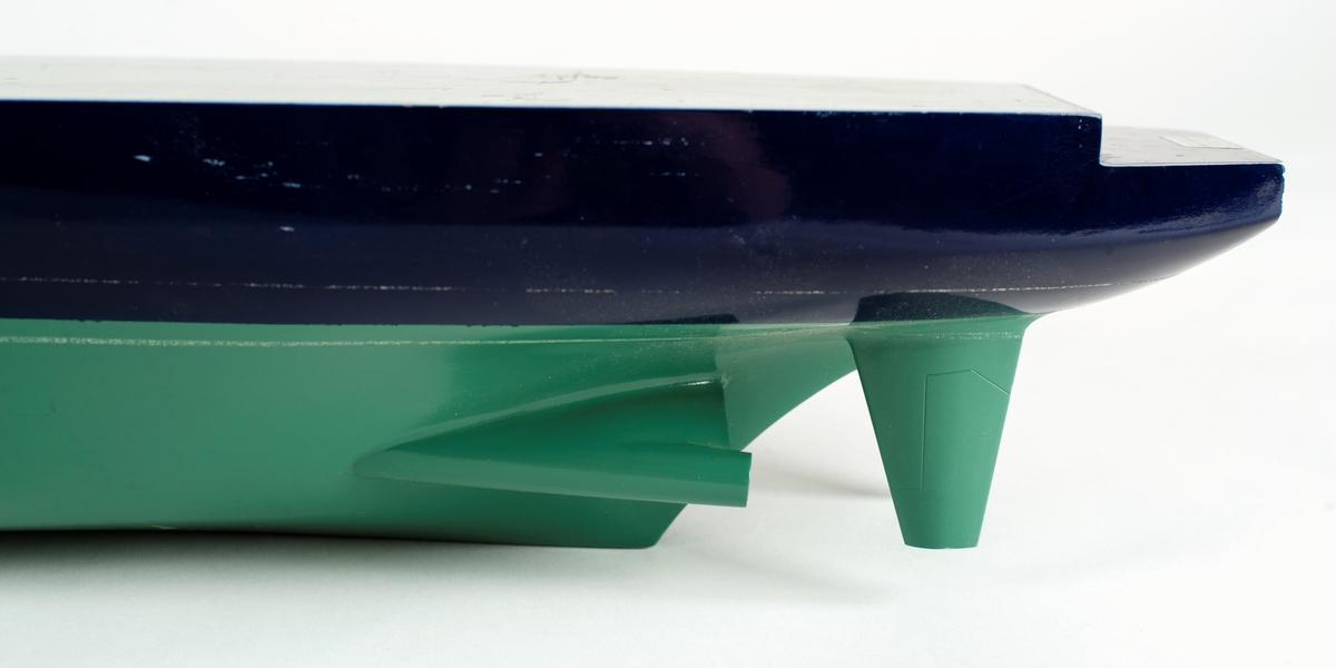 Skrovmodell av isbrytaren ATLE.