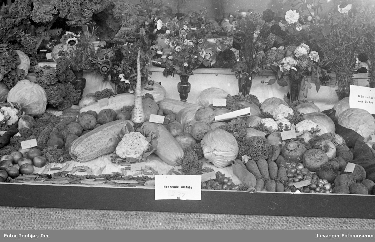 Fra utstillingen om høsten under byjubileet i 1936.