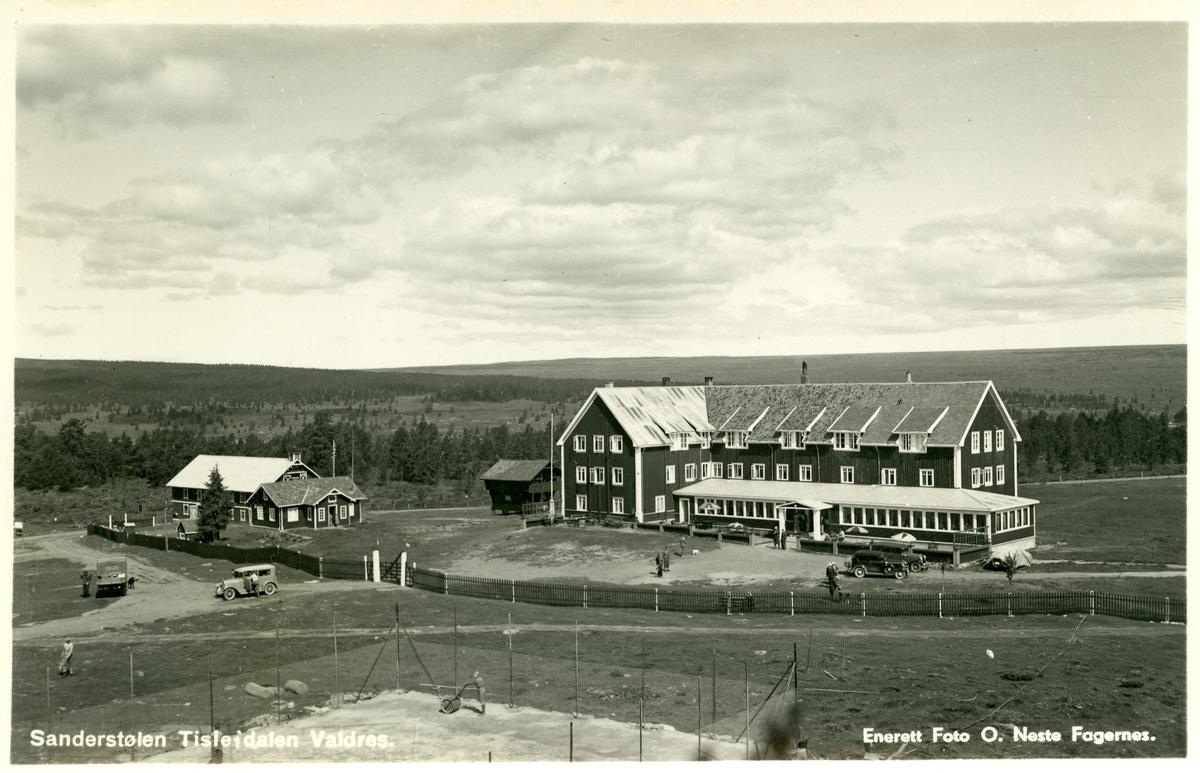Sanderstølen Høyfjellshotell, Tisleidalen, Nord-Aurdal.
