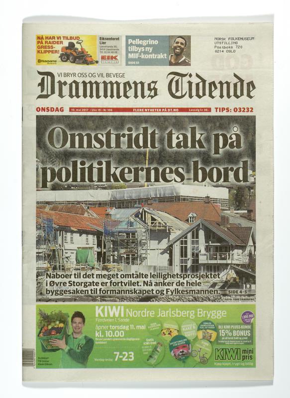 Drammens Tidende (Foto/Photo)