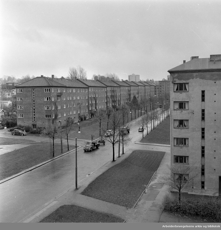 Chr. Michelsensgate 51 - 57. November 1957