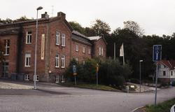 Gamla polishuset vid Forsåkersgatan i Mölndal, september 199