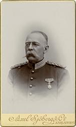 Porträtt av okänd officer vid Smålands grenadjärkår I 7.