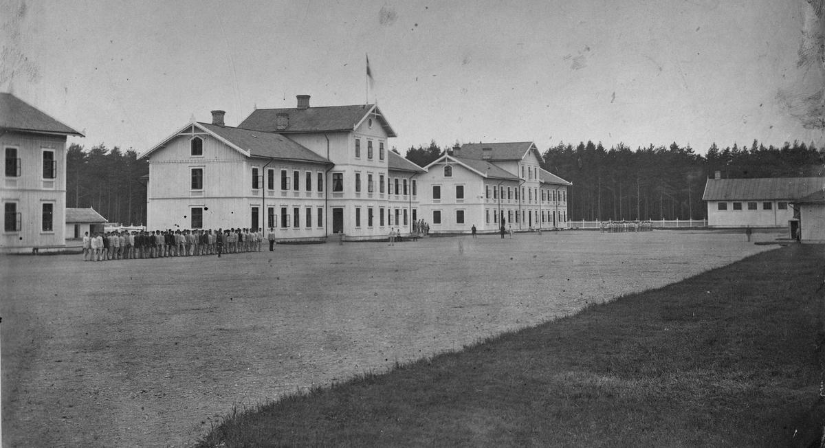 Volontärsskolan i Karlsborg.