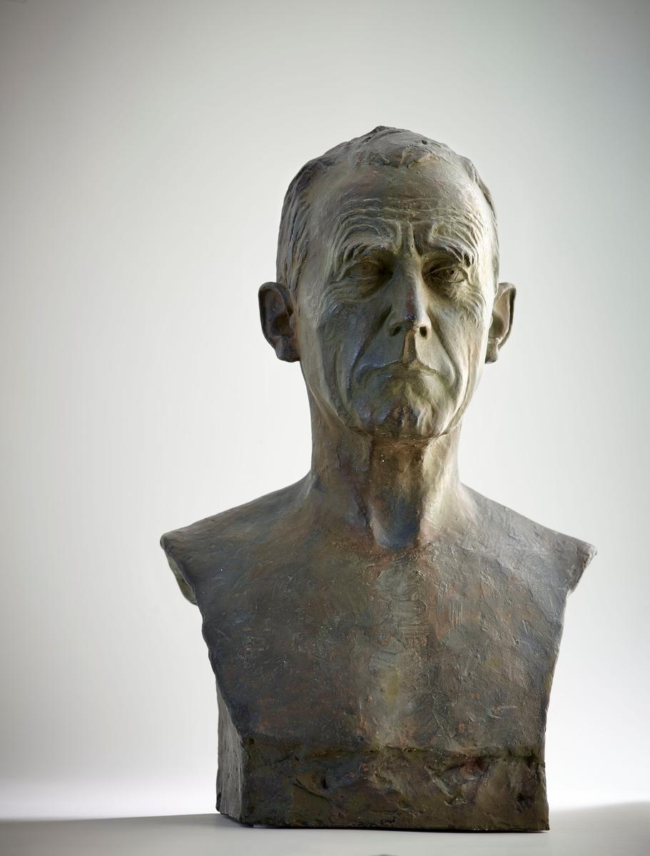 Roald Amundsen (1872-1928) [Byste]