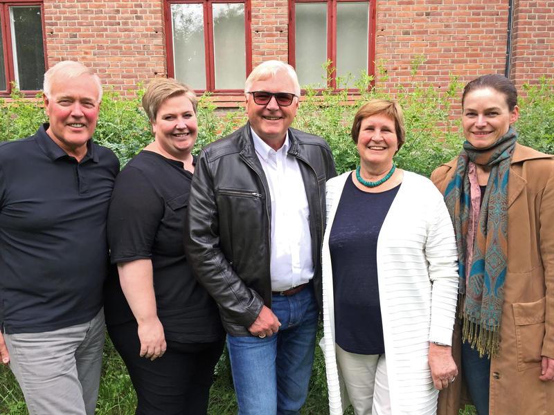 F.v.: Georg Jensen, Silje Cathrin Fylkesnes, Jan Torkehagen, Gunhild Aalstad og Mona Myrland (Foto/Photo)