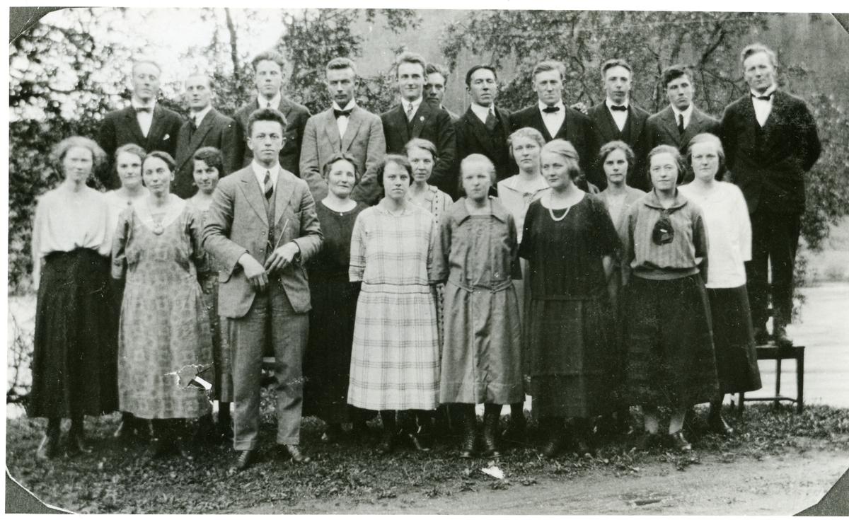 Hølera og Dølven sanglag i 1925.