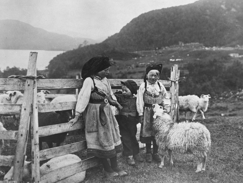 På sæteren 1918. (Foto/Photo)