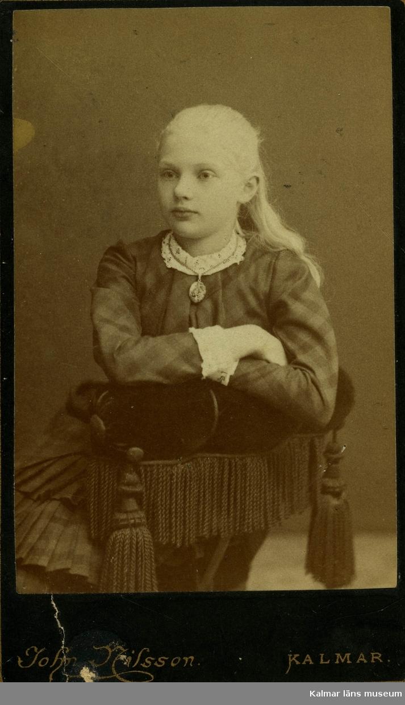 Porträtt ur fru Bergs mors, Annie Nordenankar född Rosberg, samlingar.
