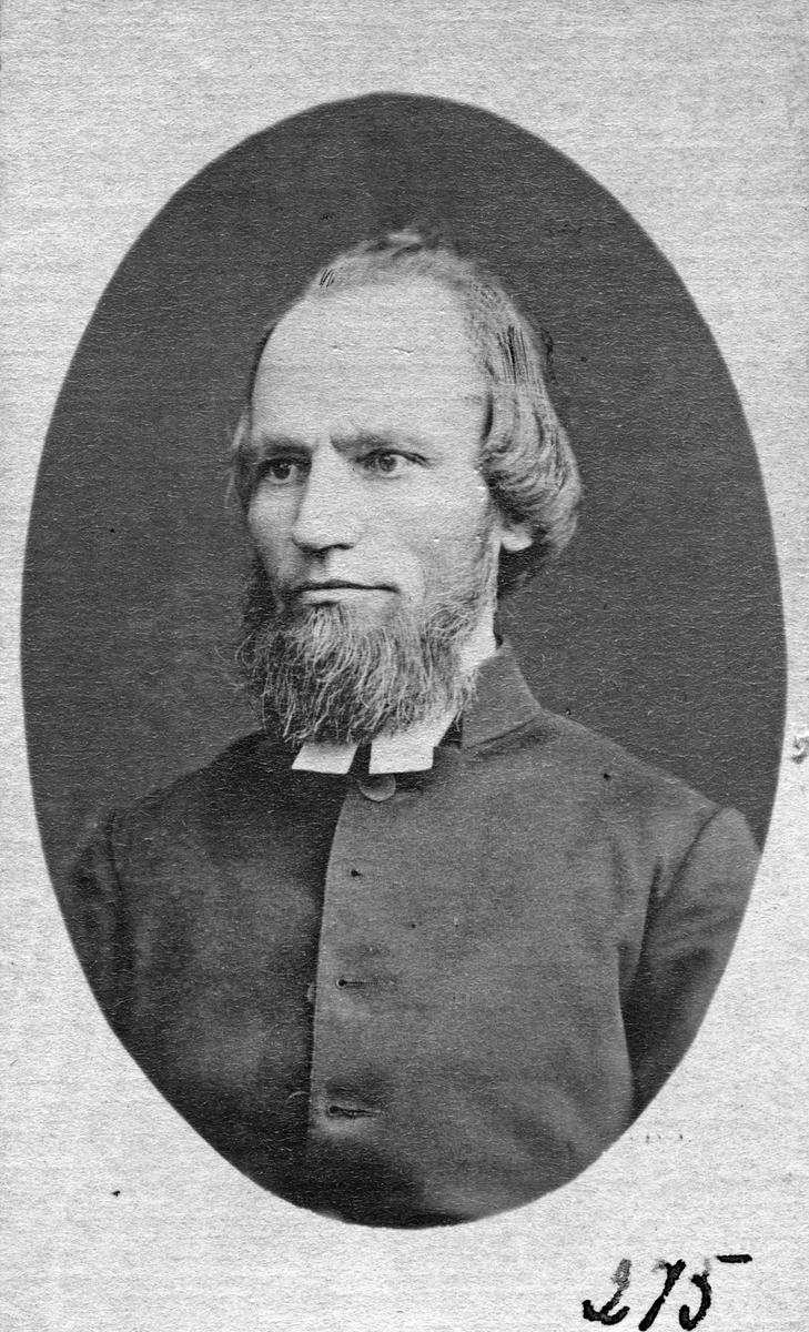 Pastor Hans Fredrik Meijer, 1870-tal.