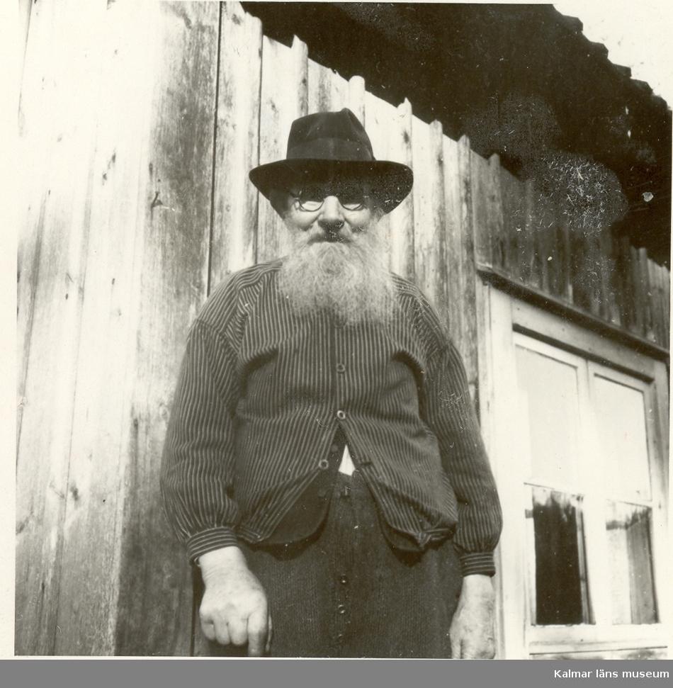 Porträtt av Ludvig Karlsson i Sjönäs.