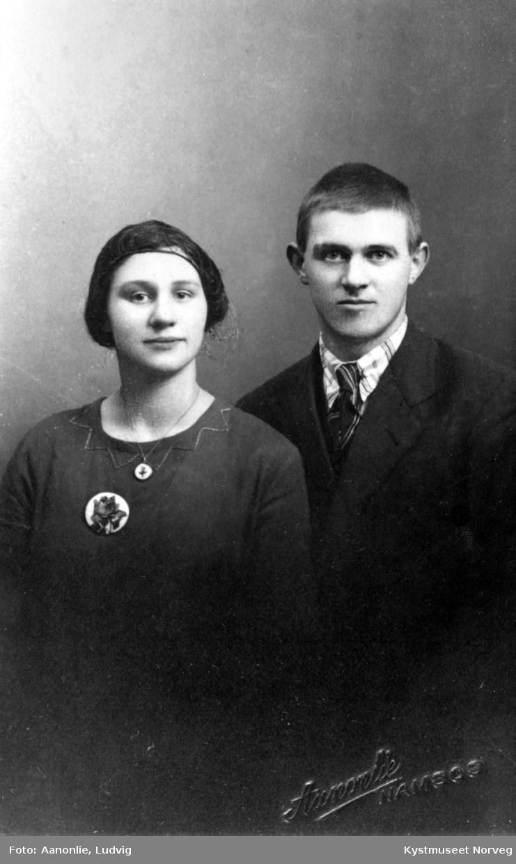 Hulda og Lorentz Bondø