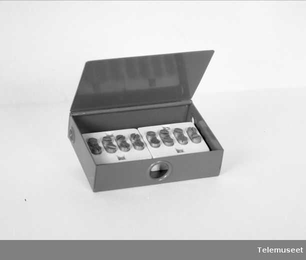 Koblingsboks 4 par OTA-type, Elektrisk Bureau.