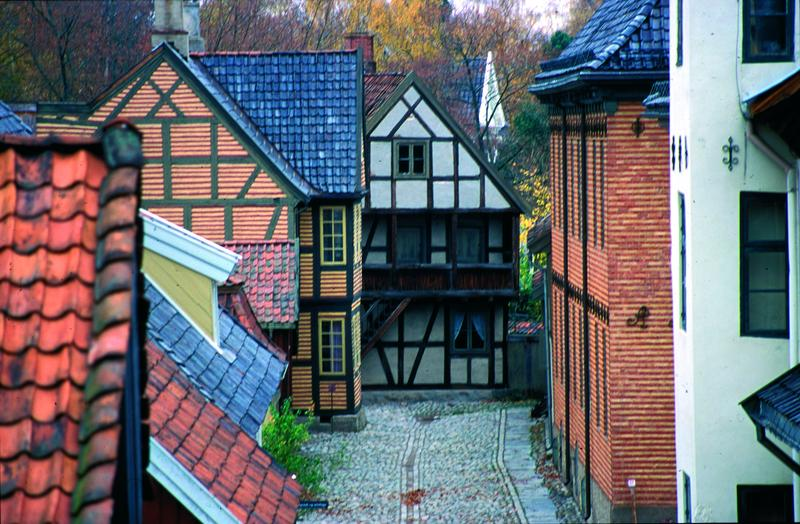 Gamlebyen i Friluftsmuseet (Foto/Photo)