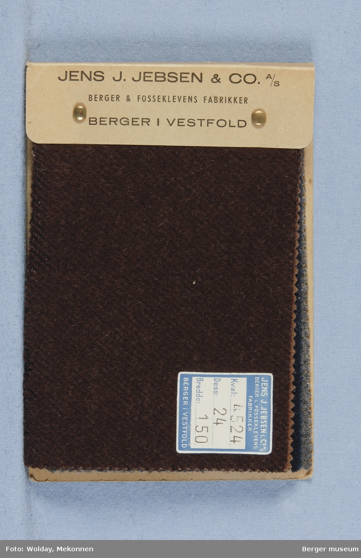 Prøvebok med 5 prøver Frakkestoff Melert Kval. 4524