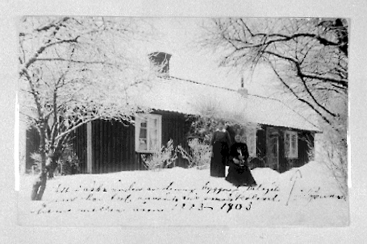 Bildtext: Skara. Foto ur museets samlingar. Foto: 1903.