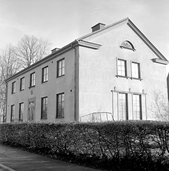 Bildtext: Byggnadsinventering i Skara 1969 - 1971. Kvarteret Lektorn 1. Sturegatan 3.