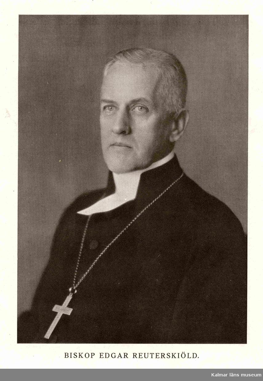 Reuterskiöld Edgar. Född 1872-10-19 död 1932-08-14. Biskop.